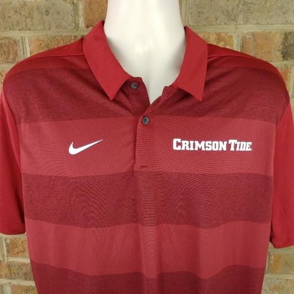 01f34401a Nike Shirts | Alabama Crimson Tide Polo Shirt | Poshmark